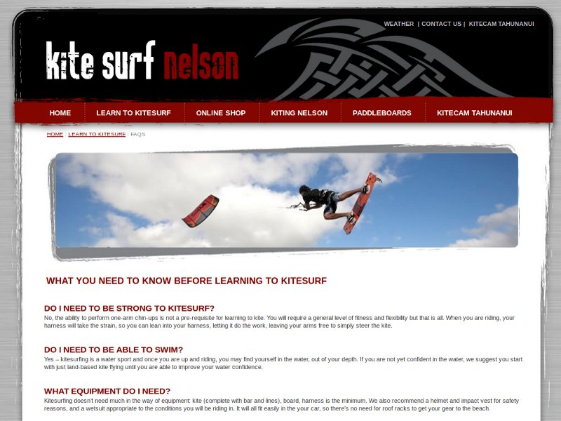 kitesurfnelson.co.nz
